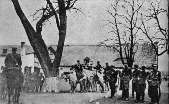 1 brygada kawalerii WP. Marzec 1945 r. Zdjęcie z Rajmund Kuliński Pierwsi i ostatni.jpg