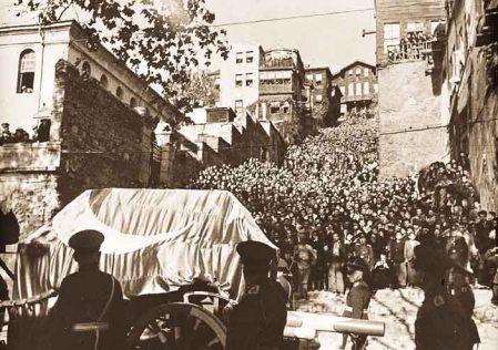 Pogrzeb Mustafy Kemala Atatürka.