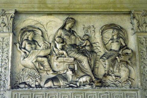 Relief z budowli Ara Pacis z I w. p.n.e