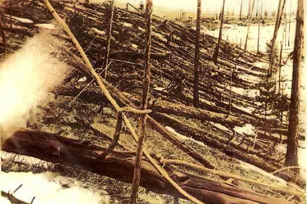 katastrofa tunguska zzdjecie leonida kulika 1927