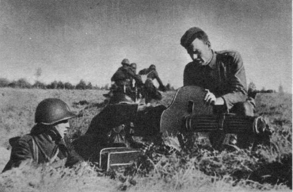 Sielce ćwiczenie CKM 1943
