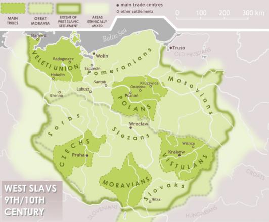 zachodni slowianie IX X wiek