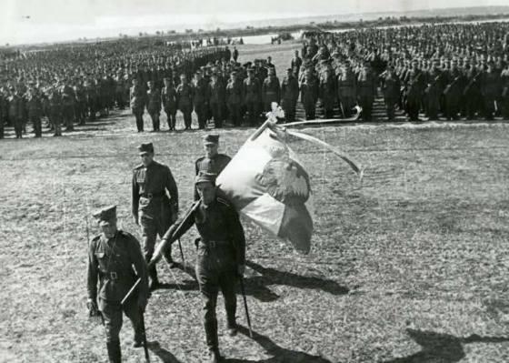 1943 15 lipca przysieg 1 dywizji