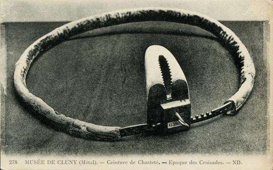 Pas cnoty, który podobno należał do Katarzyny Medycejskiej. Znajduję się w Musée de Cluny w Paryżu.