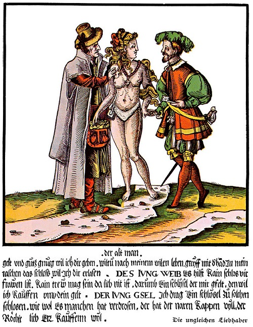 XVI-wieczny niemiecki satyryczny drzeworyt.jpg