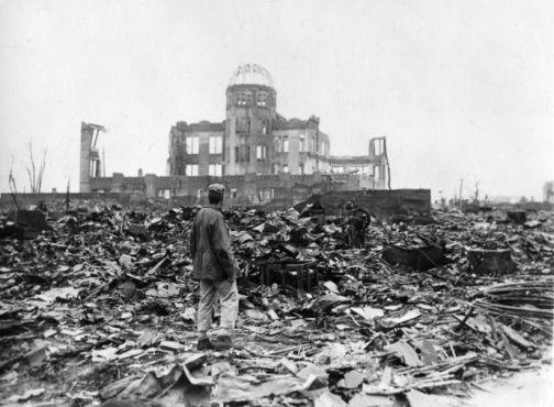 Hiroszima 6 sierpnia 1945 r. tuż po ataku