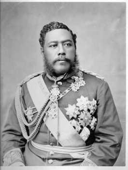 Kalakaua 1836-1891 - król Hawajów w latach 1874-1891