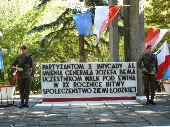 Pomnik bitwy pod Ewiną. Fot. NaszeMiasto.pl Radomsko