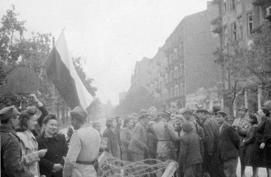 wyzwolenie Warszawy Pragi