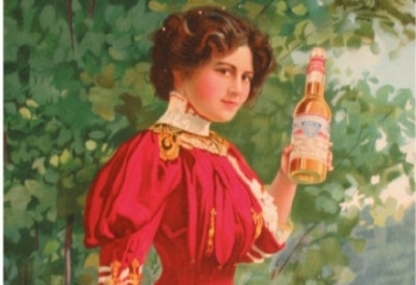 Dziewczyna Budweisera 1900