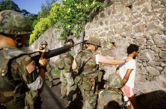 Grenada Inwazja cywile