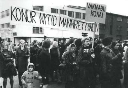 Islandia strajk kobiet 1975