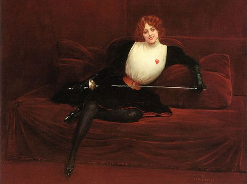 Julie d Aubigny obraz