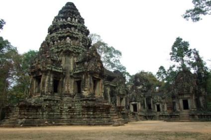 Kambodża Monumentalne budowle Angkoru