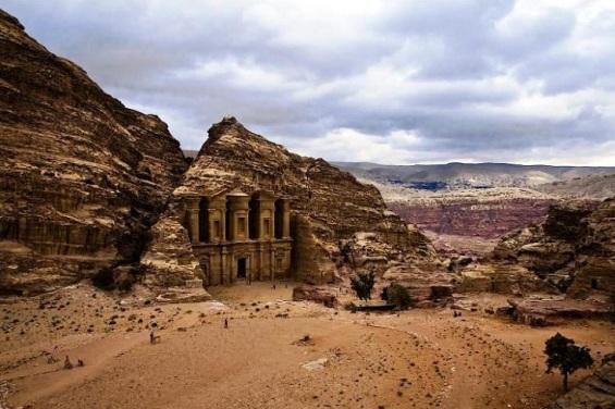 Petra in Jordan tourism destinations