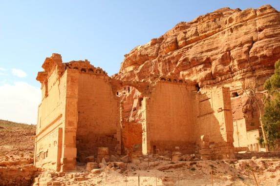 Petra swiatynia Bin Faraoun