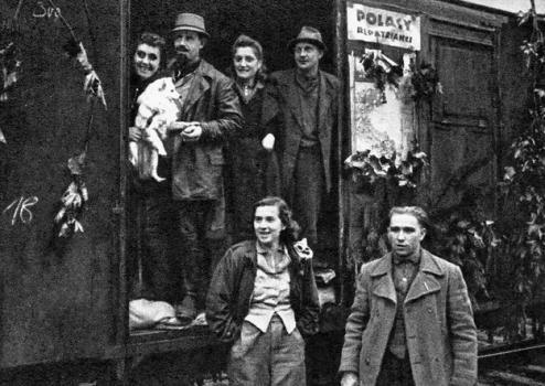 Repatrianci Czechowice-dziedzice 1945