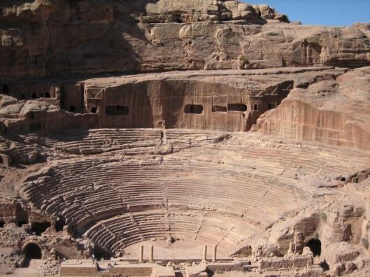 rzymski teatr w petrze