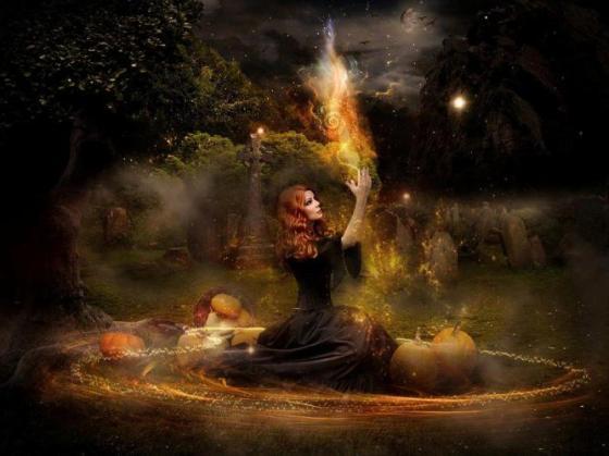 Samhain czarownica