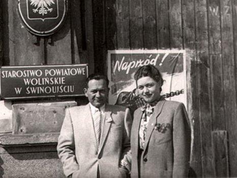 Starostwo powiatowe w Świnoujściu 1946