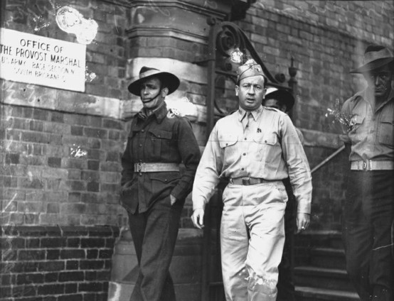 Brisbane Amerykanin i Australijczyk 1942 r.