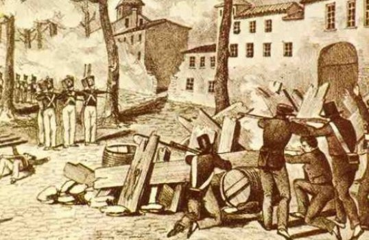 I powstanie tkaczy Lyon 1831