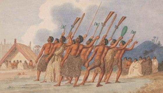 Maorysi z bronią