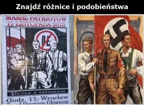 plakat faszyzm
