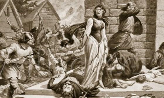 st. Brice Day Massacre Grunhilde