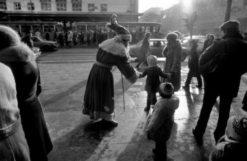 Grudzień 1979 Święty Mikołaj  Warszawa