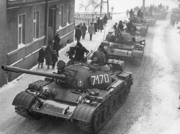 Grudzień 1981 Zbąszyn stan wojenny