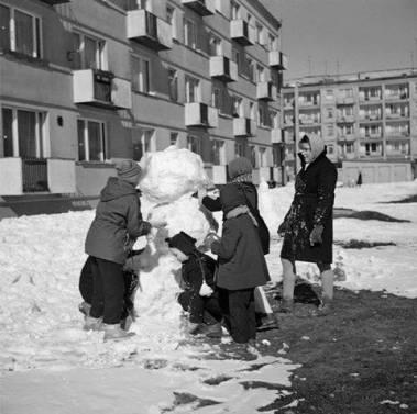 Kraków Nowa Huta 70 80 lata
