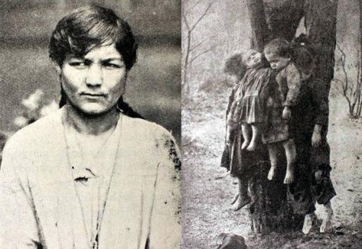 Marianna Dolińska i jej zamordowane dzieci 1923