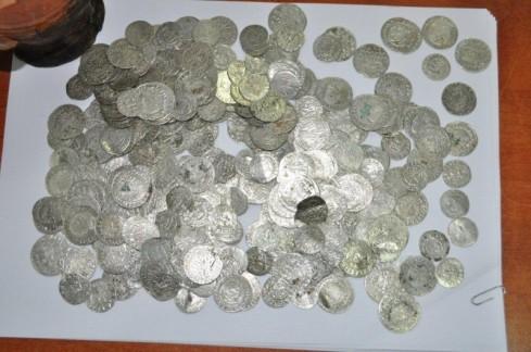 monety z żabikowa po oczyszczeniu