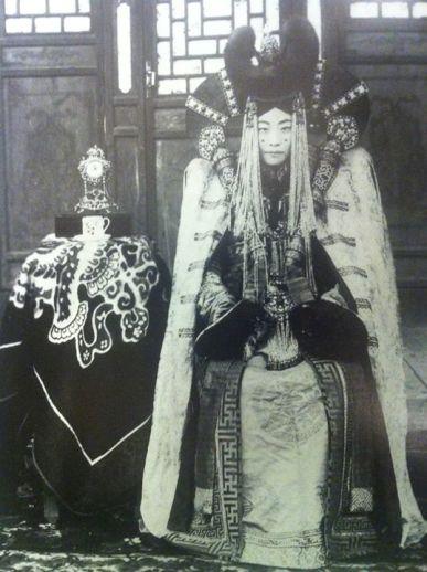 Mongolska szlachcianka