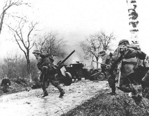 Niemcy ofensywa w ardenach grudzień 1944