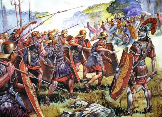 Rzymianie z Germanmi