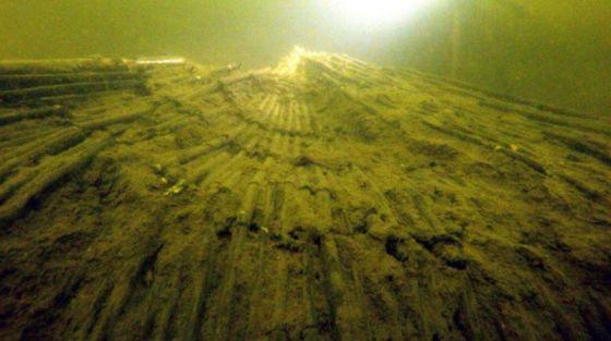 sredniowieczna pulapka na ryby jezioro lednickie