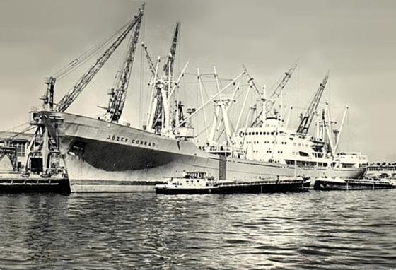 Statek MS Jozef Conrad