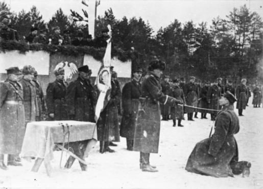 Zima Berling 2 dywizja 1943 r.