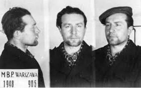 Aresztowanie Burego w 1948 roku fot. IPN