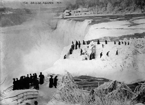 lodowy most Niagara 1912