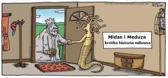 Midas i Meduza krótka historia