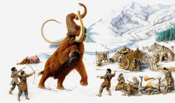 Polowanie na mamuta w Arktyce