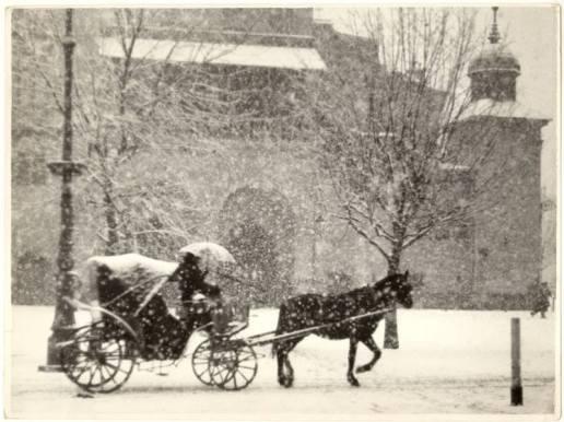 Rynek Główny zima 1937 r