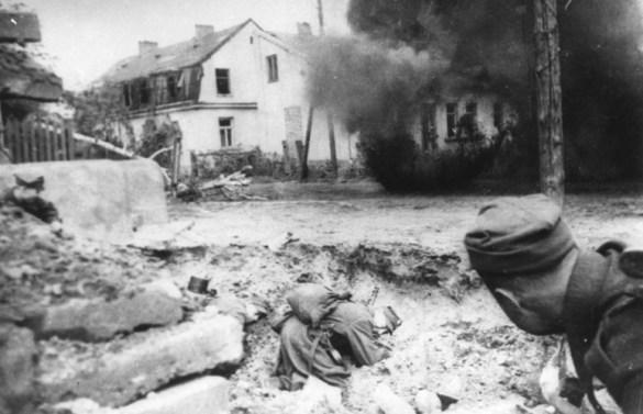 Walki o Wał Pomorski 1945