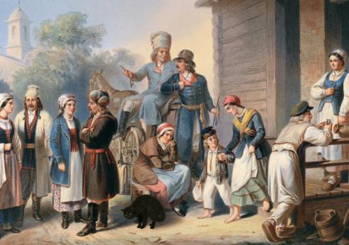 bialoruska szlachta i kot wagin