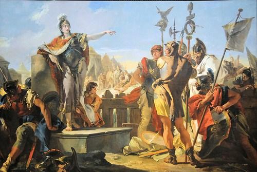 Zenobia obraz Venetia