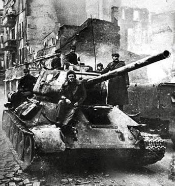 czolgisci polscy w gdansku 1945