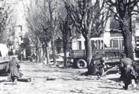 Natarcie kołobrzeg 1945